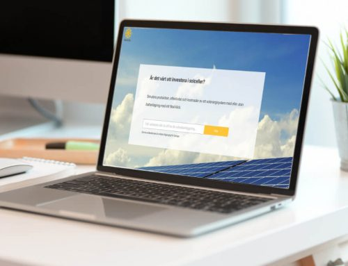Successful implementation of Eturnity's solar solution in Sweden